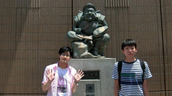 能登さん(左)と名前を知らない人(右。私はボーダーの人と呼んでいる。)