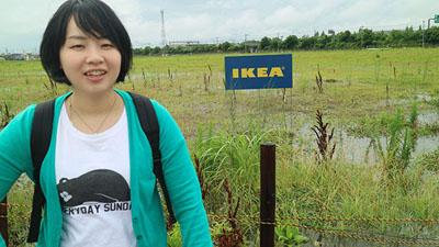 「こんなことしてないで新三郷のIKEAに行ってこい」と声が聞こえて来ます。