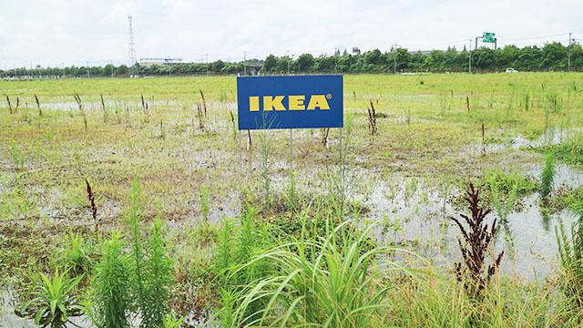 群馬県前橋市にあるIKEA予定地。一刻も早くIKEAが出来て欲しいが…。