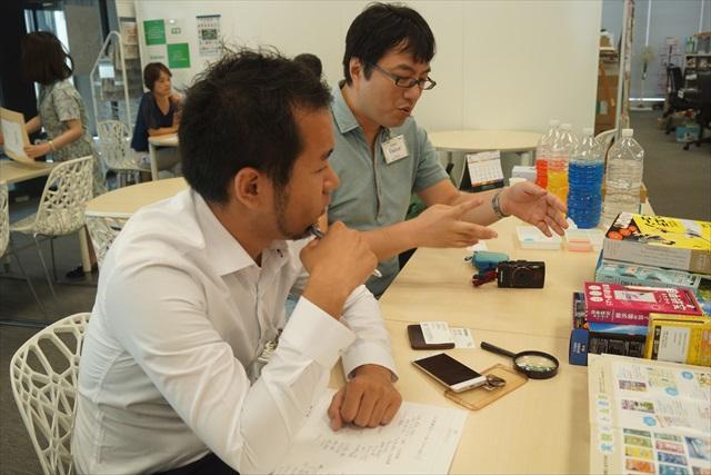 デイリーからは私を含む、冒頭の三人(古賀さん撮影)。 ちなみに西村さんは「学習」の読者だったそうです。