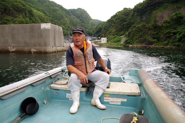 たらい舟もいいけれど、普通の舟もやっぱりいいな。