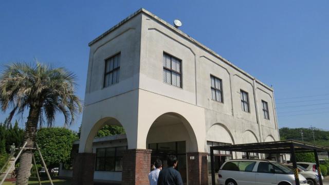 松尾製菓、工場の事務所
