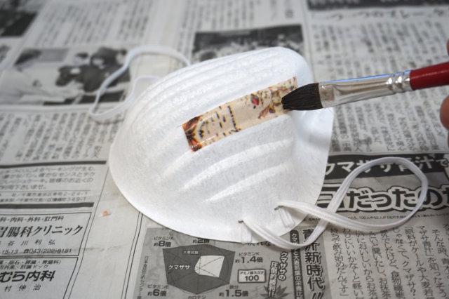 細かいところは小さく切ってツギハギで貼った方がきれいに出来ることもわかった。