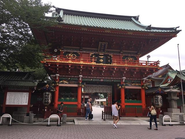 神田明神。東京屈指の古社として知られる