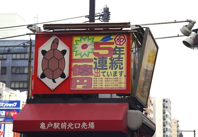街で評判のパン屋さんの創作パンみたいな亀だが5億円をもたらしている。