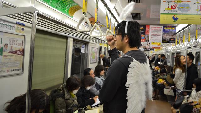電車通勤の天使