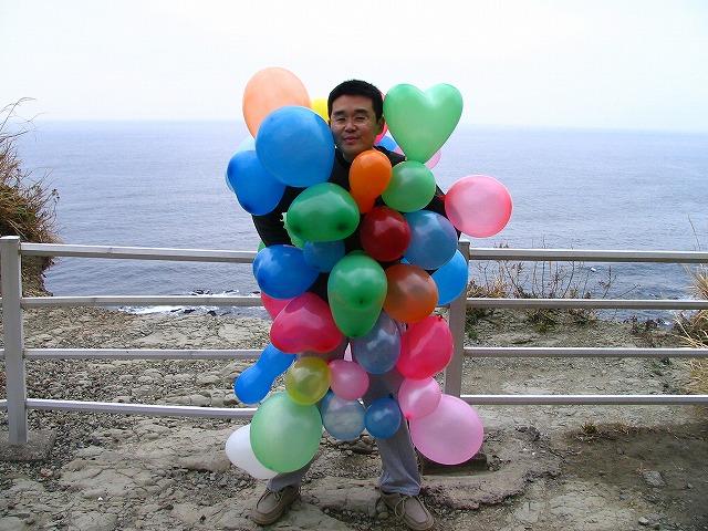 夢の世界から来た風船マンも