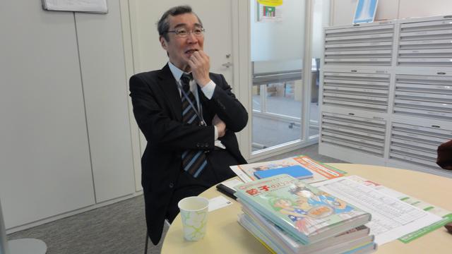 こころよく取材に応じてくださった学研の永野さん