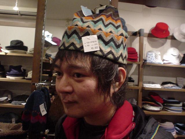 この帽子の入らなさっぷりはすばらしい