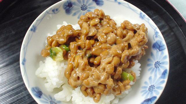 食通の納豆ご飯、できました