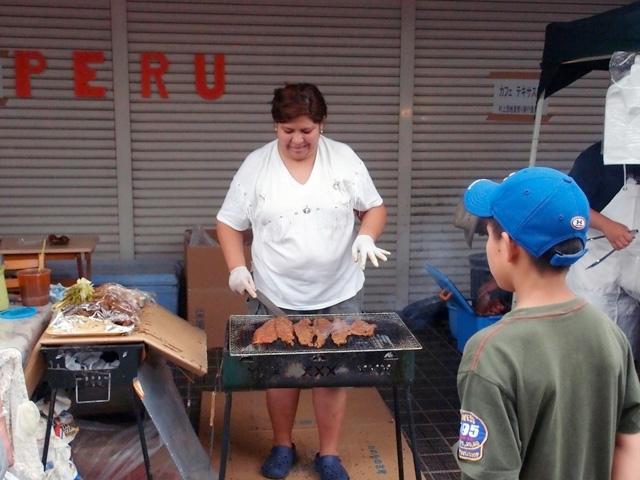 へたな南米料理レストランよりもおいしかった(おいしくいただいちゃって、食べてる写真撮るのわすれた。お腹減ってたこともあり)。「南米・おふくろの味」って感じだった。楽しい。