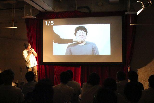 漫画家の宮川サトシさんは、「将来自分が出す漫画のアイディア」という話に上手い具合に持っていき、自分のフィールドでプレゼンを進めていった。漫画家にしかできないパワポカラオケだ。ステージに上る前は誰よりも緊張で顔面蒼白だったのが印象深い。