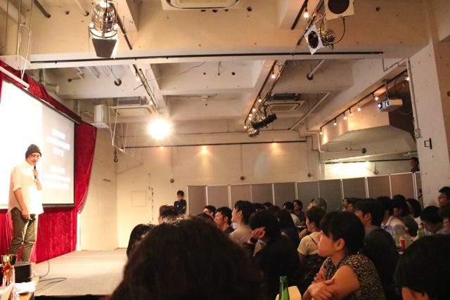 2本目のトップバッターは宮川サトシさん。