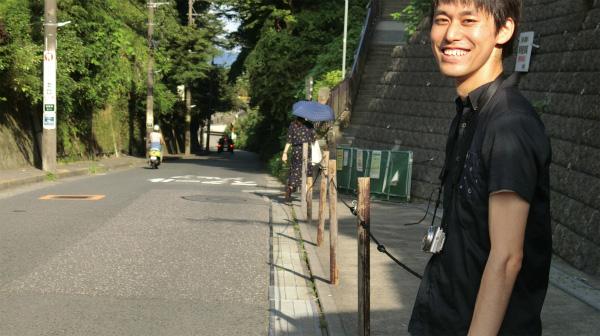 トルーさんは笑い、井口さん(日傘の人)は先に行ってしまっていた。置いて行かれたら泣く。