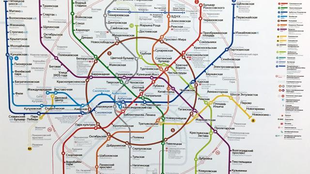 ロシアの地下鉄はこちらの記事をどうぞ