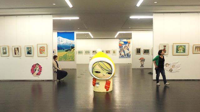 別の階では秋田で地元の人頼りの旅をやった時にたくさん見かけた池田修三さんの木版画展が行われていた。つながってなんか嬉しい。