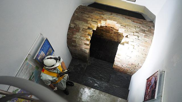 仙台の下水道は東京、大阪についで3番目に古い。今から110年以上前にできたこの煉瓦製の下水洞窟は度重なる震災にも耐え、土木遺産として認定されている。