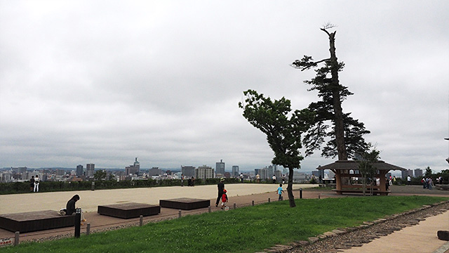 山の上にあり、鉄壁の砦だったという仙台城。今は憩いの場。