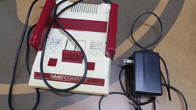 hironoさんが子供時代に使っていたファミコン