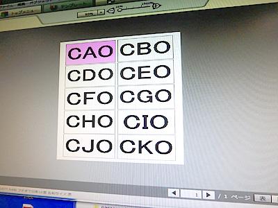 作るのもプリント用紙専用のソフトで楽々製作。