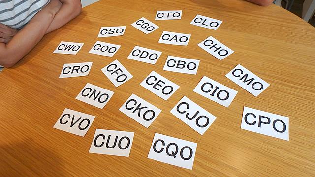 役職名でCAOからCWOまで全部ありました。