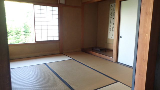 床の間まである居室