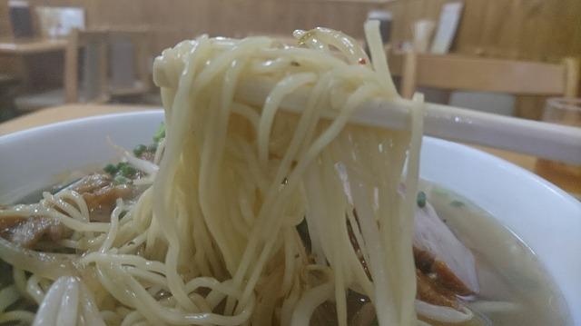 麺は味噌ラーメンの概念を覆す細麺