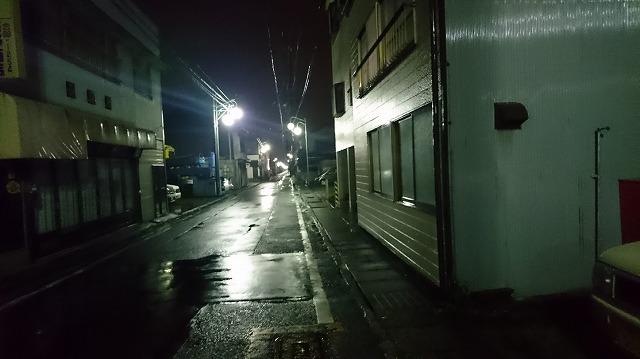 あの東海道から一つ路地に入った路。ひたすら歩く