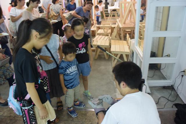 子供達も興味を示してくれた。