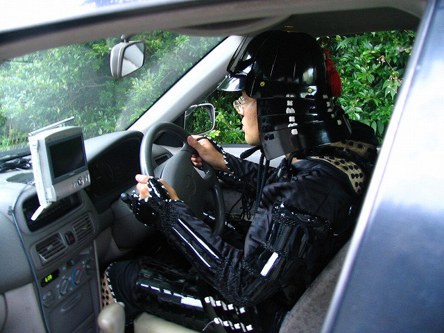 車に乗るのも一苦労