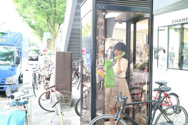 電話ボックスで待ち合わせというシチュエーションは逆に今の時代には新しいのかもしれない