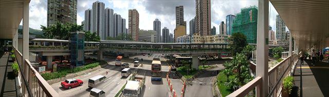 ひとたび道を間違えると恐ろしく遠回りする羽目になる、迷宮・香港。