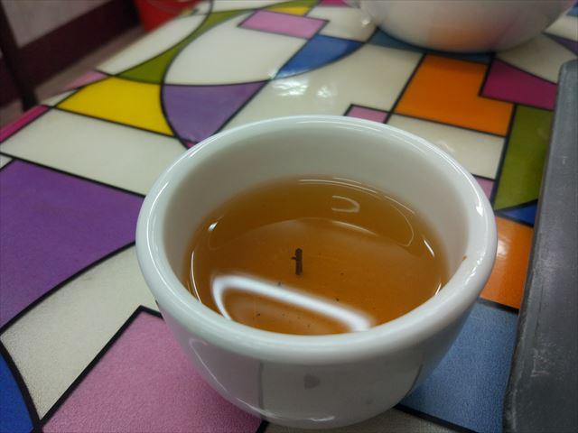 あ、茶柱。