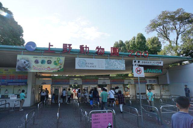 上野動物園にやってきた。