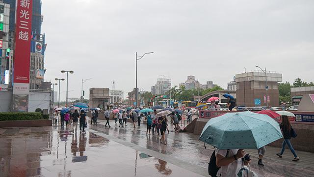 しかもずっと雨だった