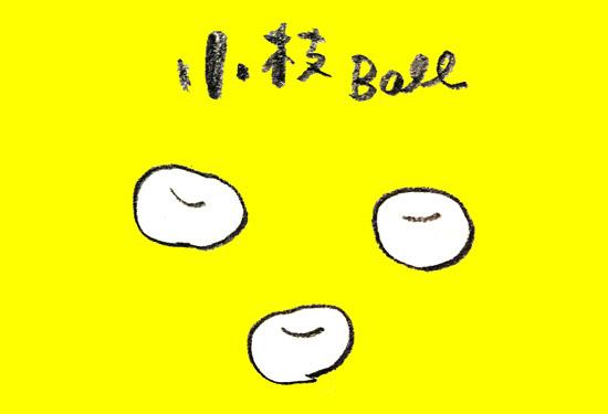「小枝ボール」という丸い小枝が発明されたり