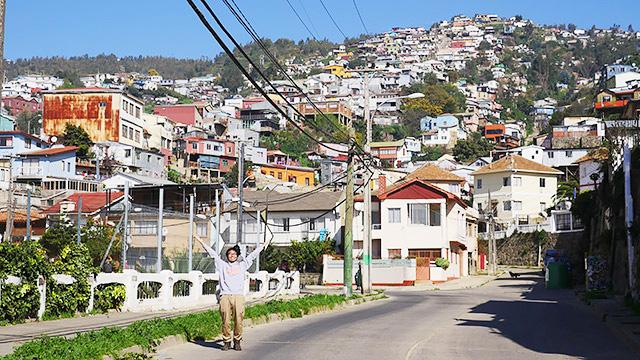 「チリの街並みがジブリの世界観だった」より