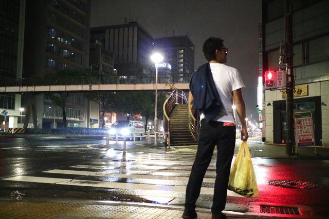 夜の街 × ドンキの袋