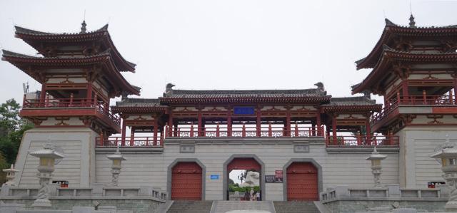 空海の碑は青龍寺というお寺の中にある