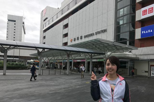 静岡市はフォッサマグナの上なので、わたしは今フォッサマグナの上にいるの図