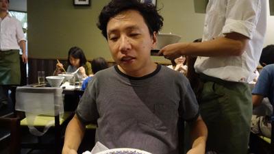 疲れたというのは間違いない。食べ終わって大北がみたことない顔になってた