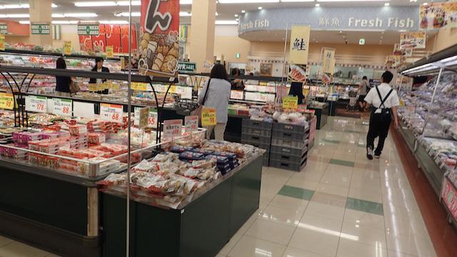 スーパーマーケットや