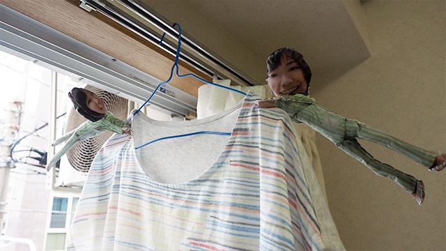 活用法2:洗濯バサミとして使う。実用的だ
