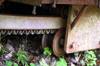 トレーラー部分の車輪