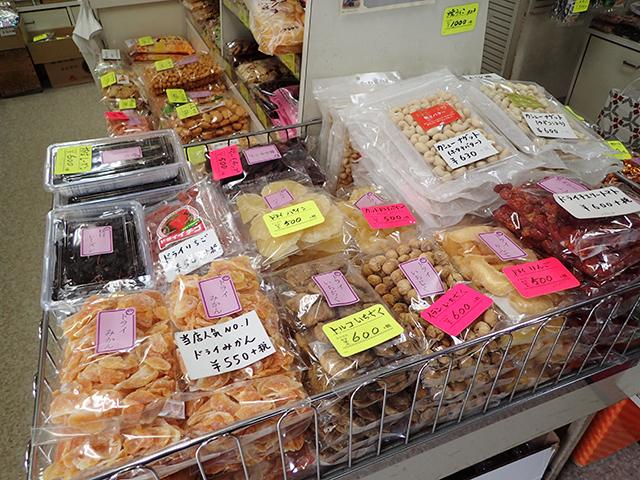 岡田かめや人気No.1はドライみかん。これは白飯無理っぽいなー。