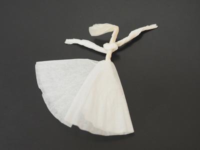 合紙による喜びの舞