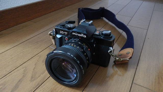 とんでもなく簡単に一眼レフカメラ(フィルム式)が手に入った。日頃の行いがいい証拠ですね。