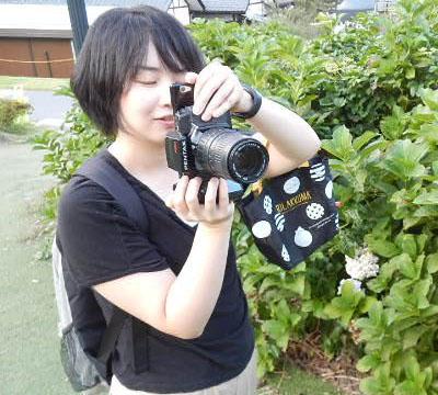 私今、いいカメラで撮っていますよ!というドヤ。