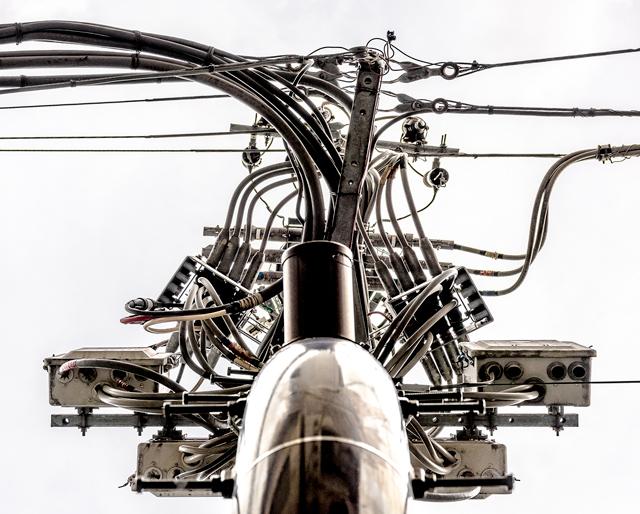 今回撮ったかっこいい電柱。神田に立っていらっしゃいます。