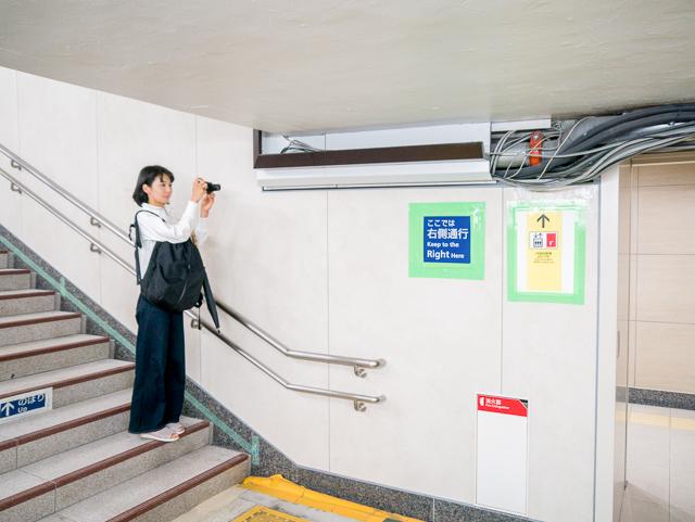 渋谷駅も神田駅もあちこち工事中の銀座線。期間限定の電線景が楽しめる。